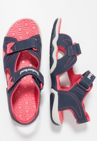 Timberland - ADVENTURE SEEKER 2 STRAP - Walking sandals - navy/pink - 1