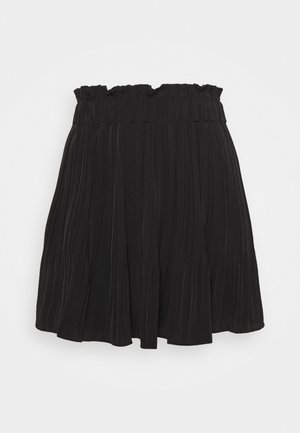 PHOENIX SKIRT - Mini skirt - jet black