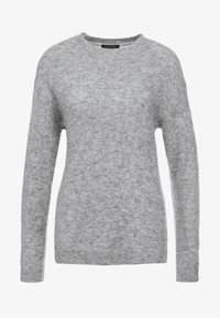 Bruuns Bazaar - HOLLY JOHANNE  - Svetr - light grey melange - 3