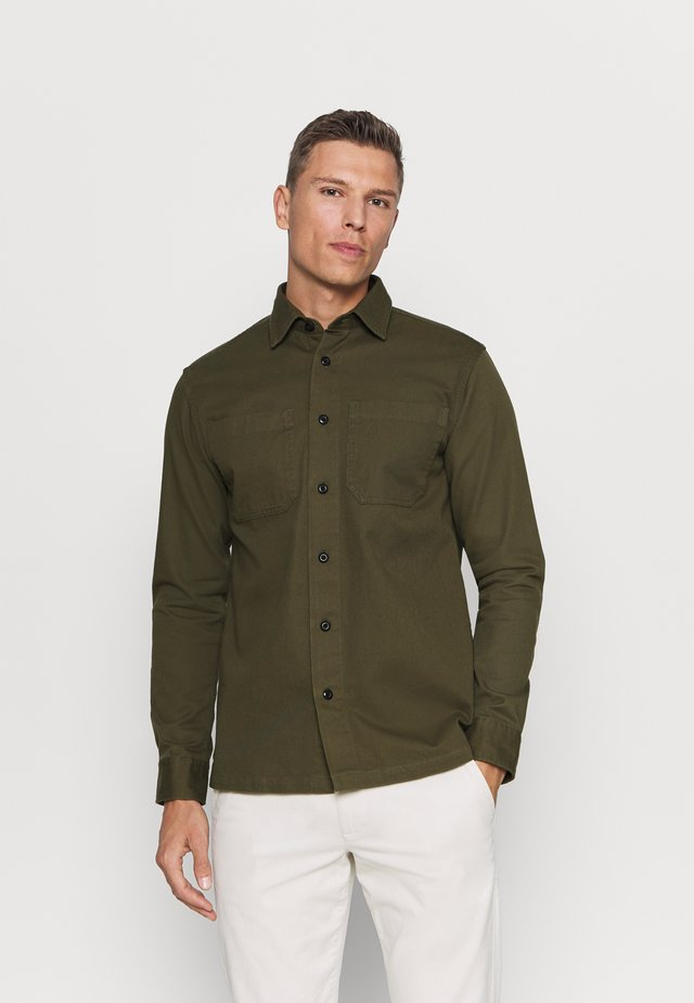 SLHREGSAKI - Camisa - forest night