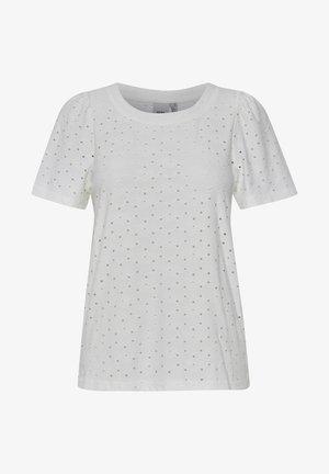 IHUMAY  - T-shirts print - cloud dancer