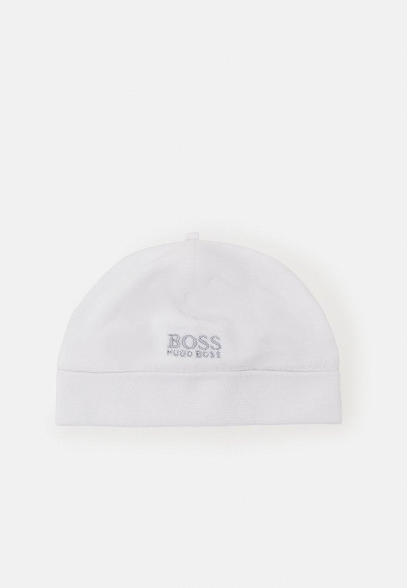 BOSS Kidswear - PULL ON HAT UNISEX - Beanie - white