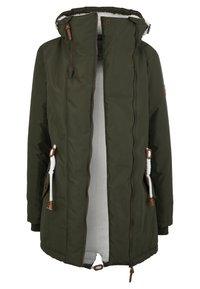 Brave Soul - MIT TEDDY INNENFUTTER - Winter coat - olive - 5