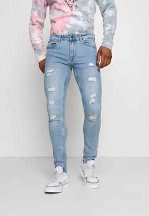 ONSWARP LIFE DAMAGE - Jeans Skinny Fit - blue denim