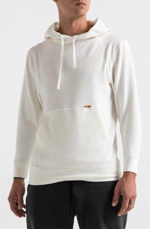 BAMBOO - Bluza z kapturem - white