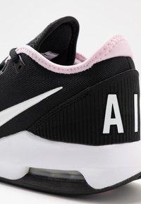 Nike Performance - COURT AIR MAX WILDCARD - Multicourt tennis shoes - black/white/pink foam - 5