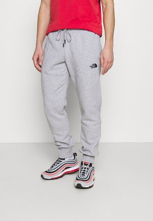JOGGER - Träningsbyxor - light grey heather