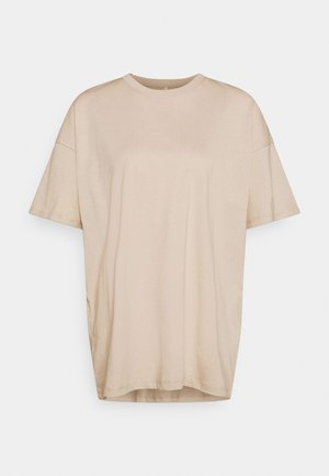 ONLAYA LIFE OVERSIZED - Camiseta básica - humus