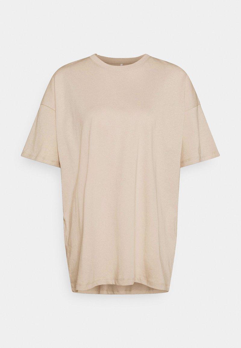 ONLY - ONLAYA LIFE OVERSIZED - T-shirt basic - humus