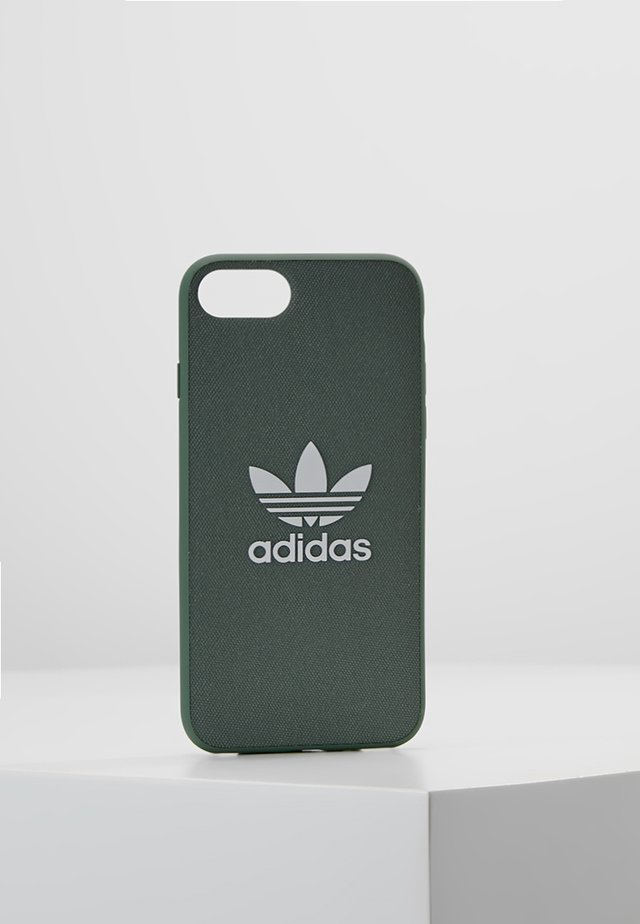 MOULDED CASE CANVAS  IPHONE 6/6S/7/8 - Handytasche - trace green/white
