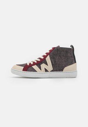 Sneakers hoog - beig/teja