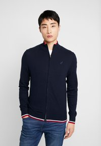 Pier One - Chaqueta de punto - dark blue - 0