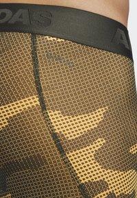 adidas Performance - ALPHASKIN SPORT CAMOUFLAGE LEGGING - Långkalsonger - flash orange - 4