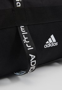 adidas Performance - 4ATHLTS ESSENTIALS 3STRIPES SPORT DUFFEL BAG - Urheilukassi - black/white - 7