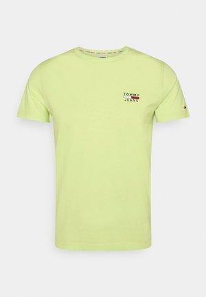 CHEST LOGO TEE - T-shirt med print - green