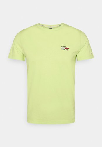 CHEST LOGO TEE - Print T-shirt - green