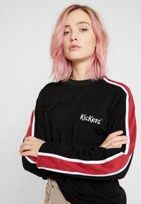 Kickers Classics - SLEEVE PANEL LONGSLEEVE - T-shirt à manches longues - black - 4