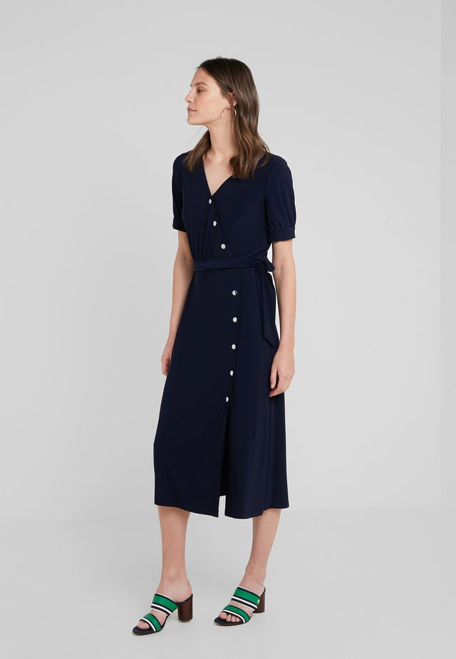 DRAKOLINA - Jersey dress - lighthouse navy