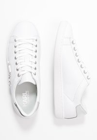 KARL LAGERFELD - KUPSOLE SIGNIA LACE - Sneakers - white/silver - 3