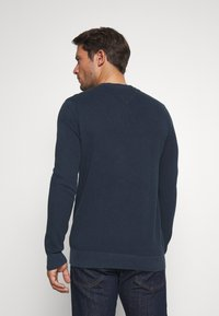 Tommy Jeans - LIGHTWEIGHT - Jumper - twilight navy - 2