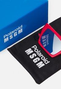 MSGM - POLAROID UNISEX - Occhiali da sole - red - 4