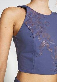 Sweaty Betty - WORKOUT VEST - Top - crown blue/bronze - 4