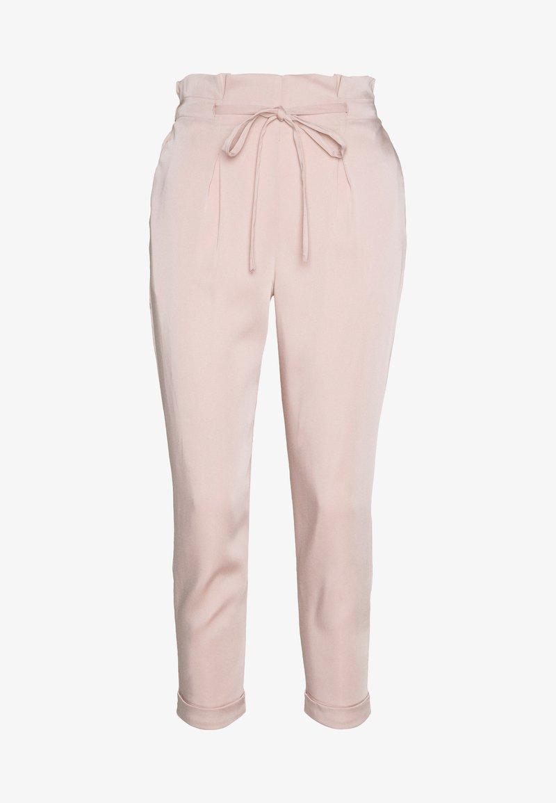 Miss Selfridge Petite - FLUID TROUSER - Trousers - pink
