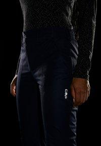 CMP - WOMAN SKI PANT - Spodnie narciarskie - black/blue - 4