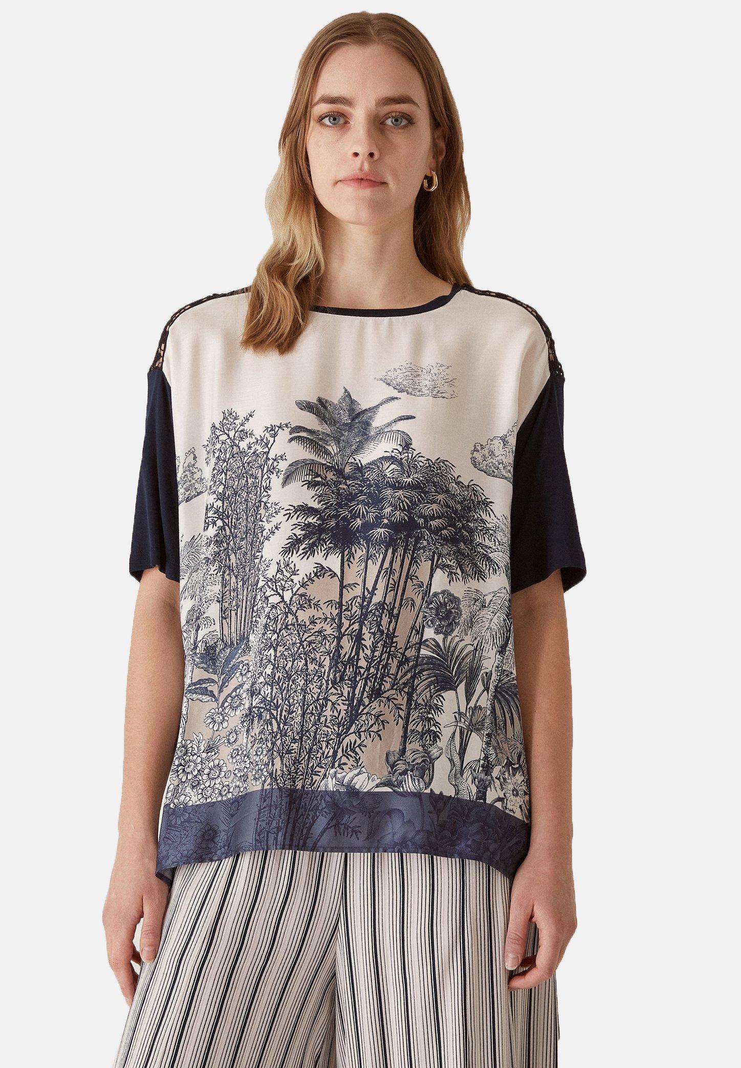 Femme CON ESTAMPADO CENTRAL - T-shirt imprimé