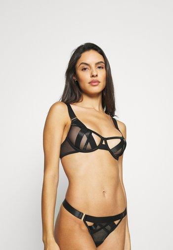 SAWYER BRA - Kaarituelliset rintaliivit - black
