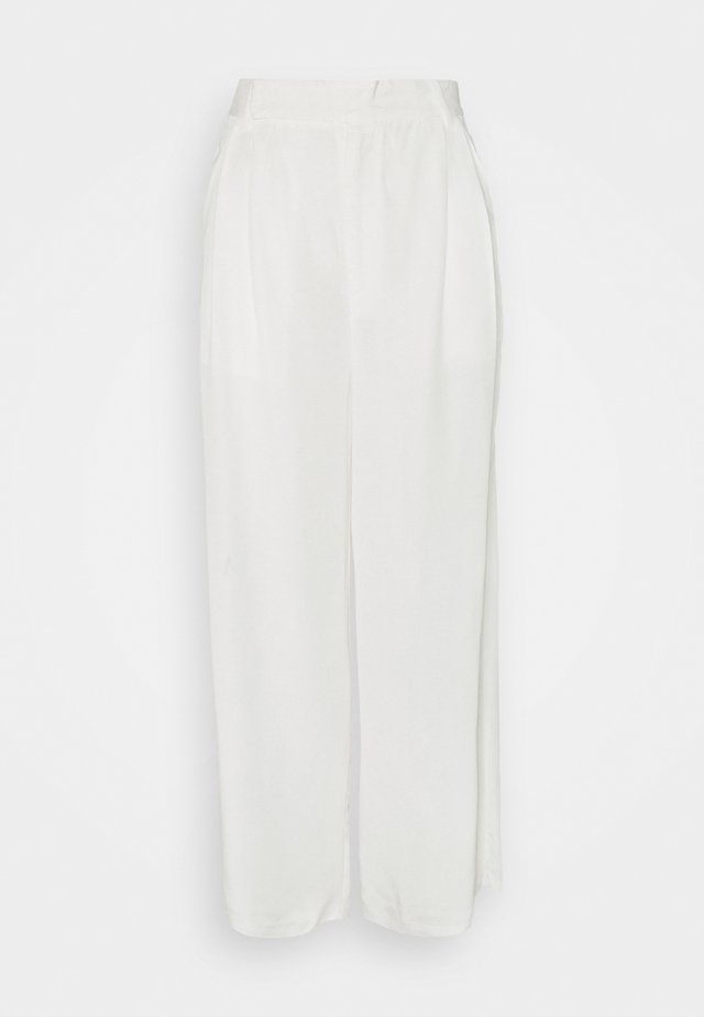 LINGER ON TAILORED TROUSER - Trousers - off white