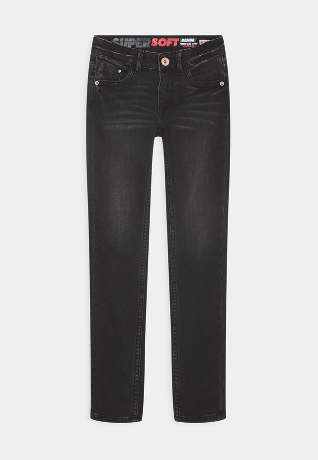 AMICHE - Jeans Skinny Fit - dark grey vintage