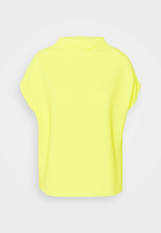 KITTUA TEXTURE - T-shirt con stampa - lime