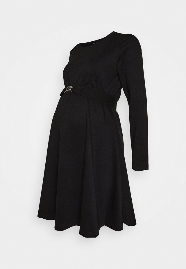 SIENA NURSING - Vestito di maglina - black