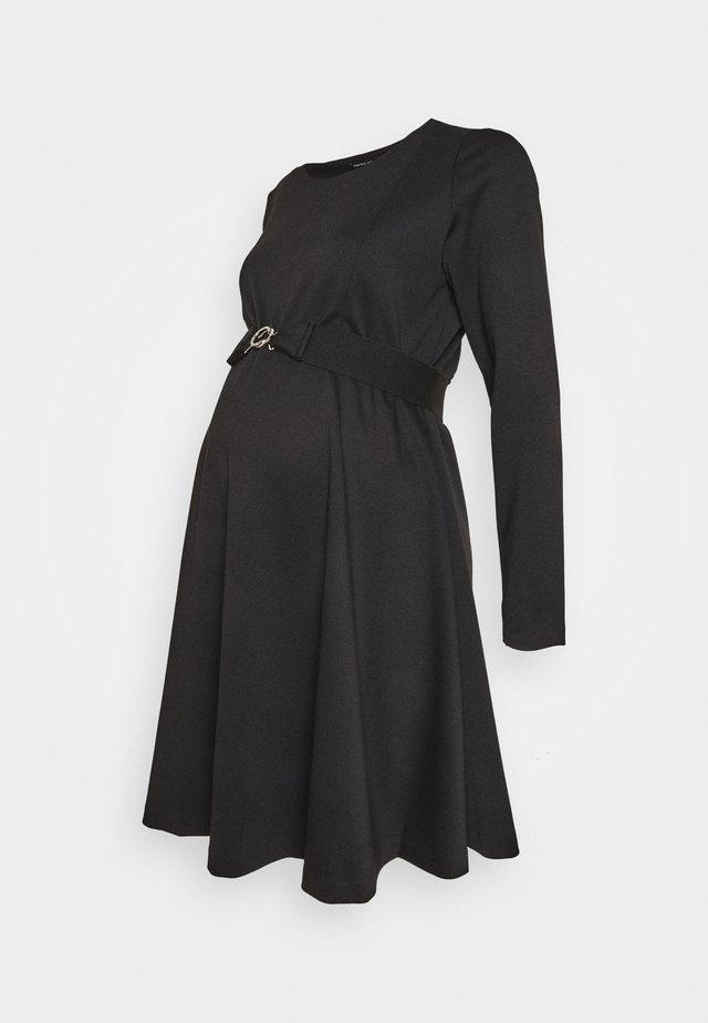 SIENA NURSING - Žerzejové šaty - black