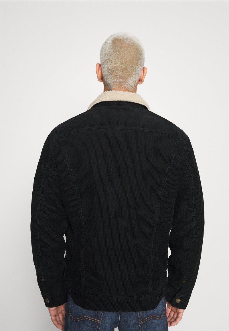 Lee SHERPA - Übergangsjacke - black/schwarz s6CZ1Z