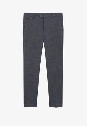 TRAVEL - Suit trousers - grau