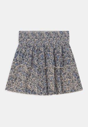 NMFRESMI SKIRT - A-line skirt - whitecap gray