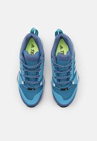 adidas Performance - TERREX AX3 - Hiking shoes - haze blue/crystal white/screaming pink - 3