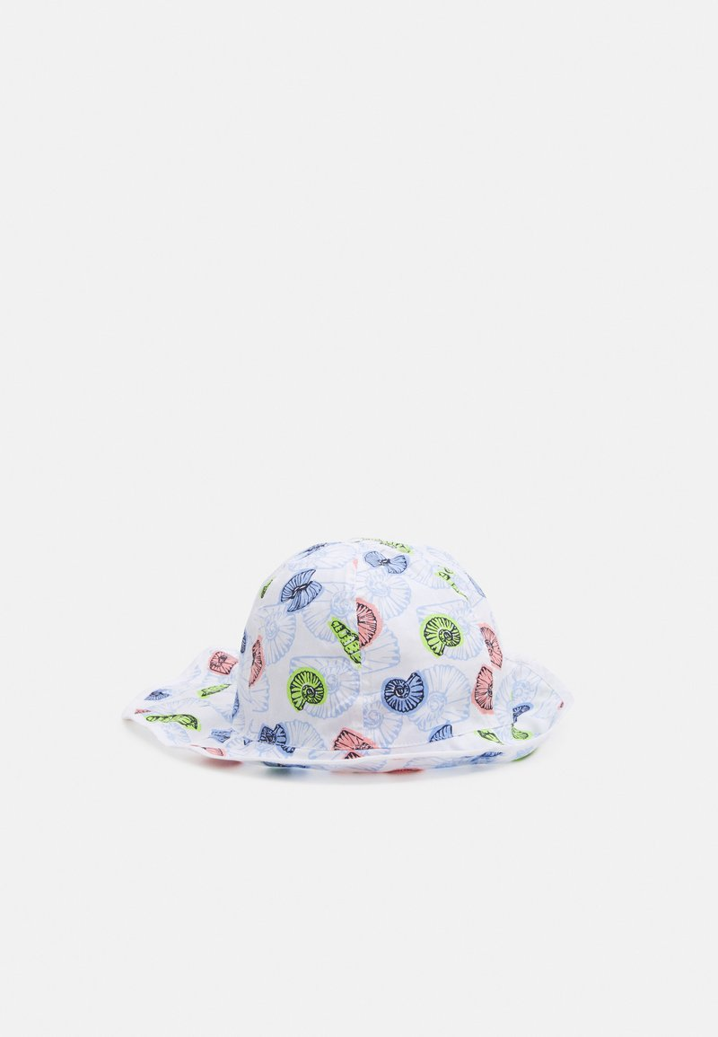 maximo - KIDS GIRL FLAPPER MUSCHEL - Hat - weiß/multicolor
