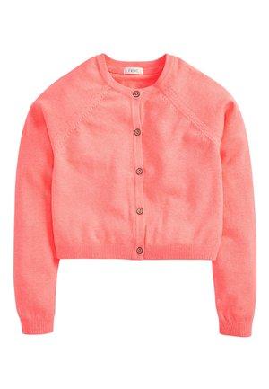 SAGE CROPPED CARDIGAN (3-16YRS) - Cardigan - pink