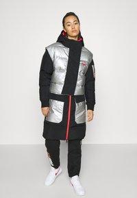 Jordan - Down coat - black/silver - 0