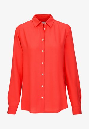 REGULAR FIT - Button-down blouse - rot