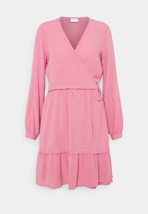 VIMESA WRAP DRESS - Day dress - wild rose