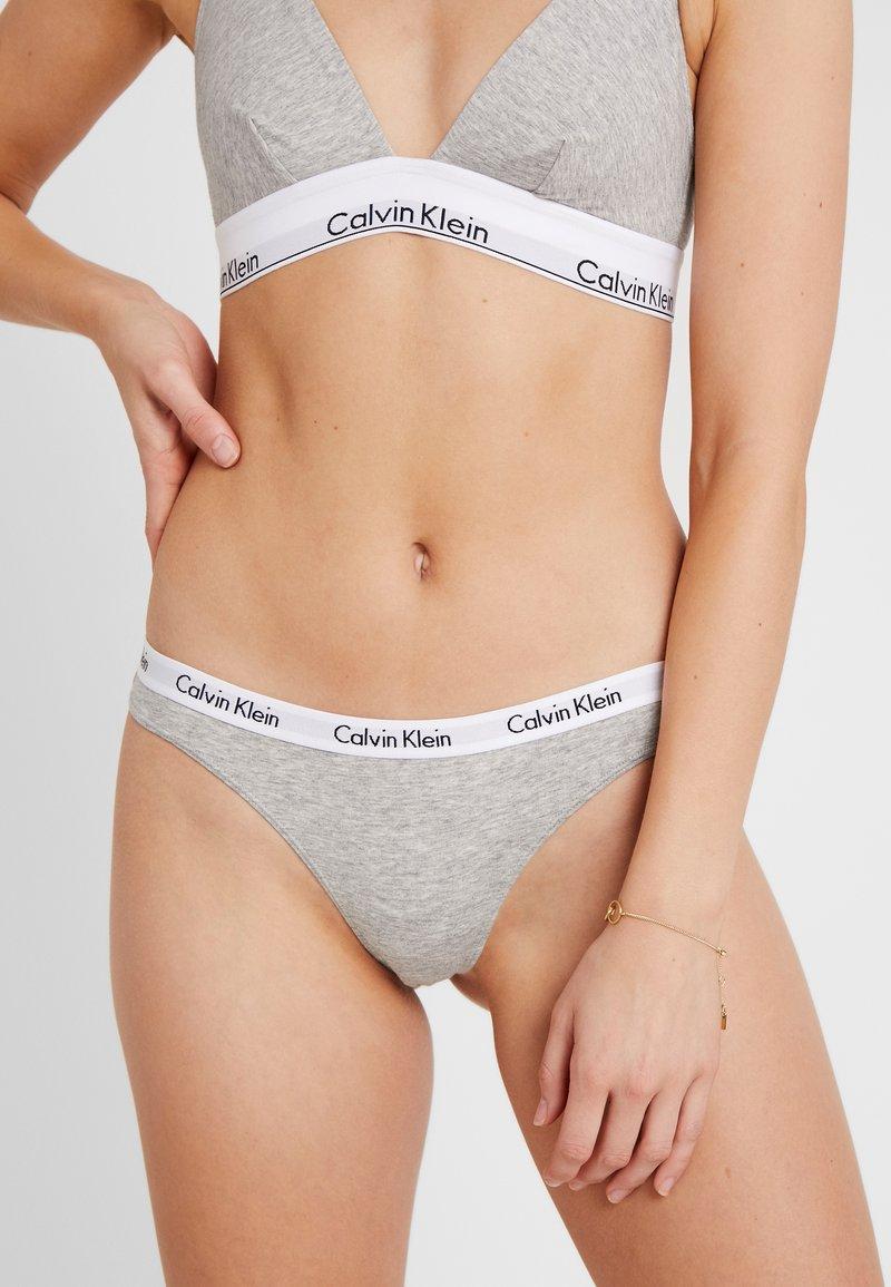 Calvin Klein Underwear - CAROUSEL THONG 3 PACK - G-strenge - pomelo/polar lights/grey