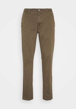 BENNI HYPERFLEX - Trousers - deep mud