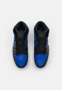 Jordan - AIR JORDAN 1 MID - Zapatillas altas - black/hyper royal/white - 3