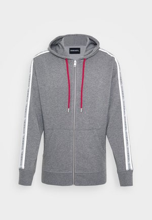 BRANDON - Zip-up hoodie - grey