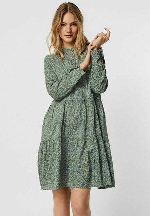 Day dress - green milieu