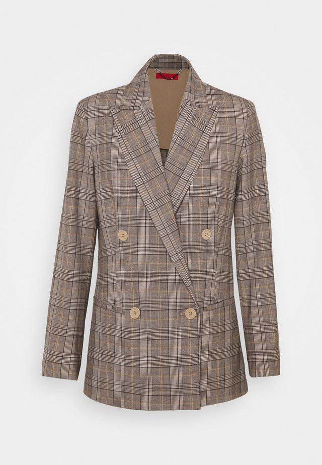 CAGLIARI - Short coat - beige